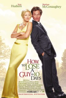 <i>How to Lose a Guy in 10 Days</i> 2003 film by Donald Petrie