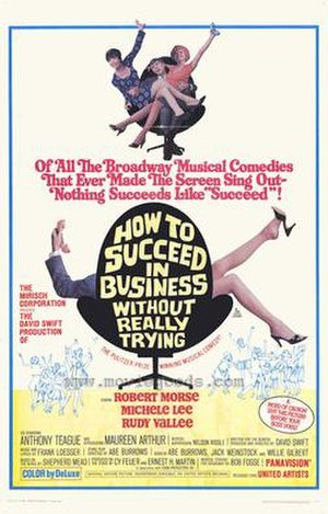How to Succeed in Business Without Really Trying (film) - Theatrical release poster