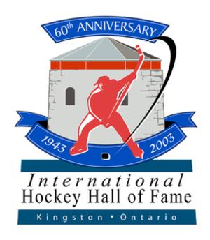 International Hockey Hall of Fame - Image: IHHOF 60th logo