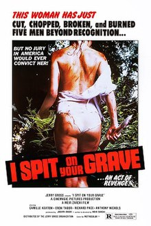 What would be your favourite horror movie that you believe should be remade and why? 220px-ISpitOnYourGraveposter