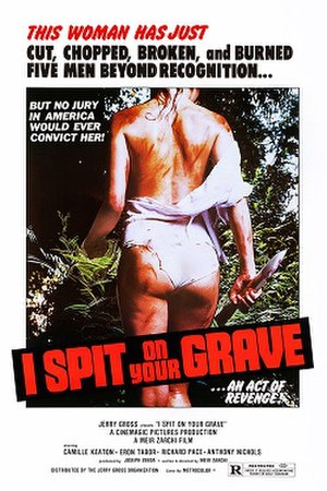 I Spit on Your Grave - Theatrical re-release poster