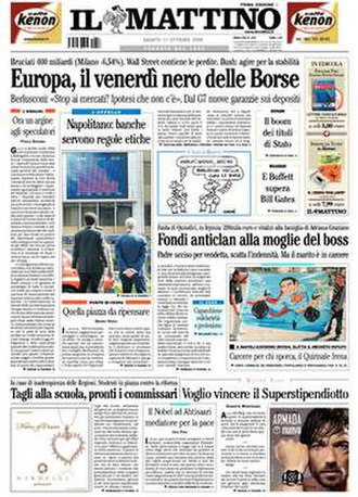 Il Mattino - Image: Ilmattino national