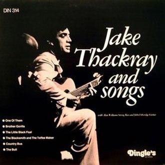 Jake Thackray and Songs - Image: Jake Thackray and Songs (Jake Thackray album cover art)