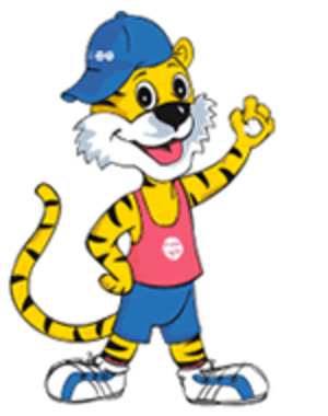 2008 Commonwealth Youth Games - Jigrr, Official mascot of the 2008 Commonwealth Youth Games