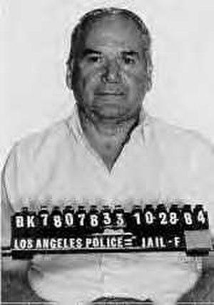 Jimmy Caci - LAPD mugshot of Jimmy Caci from 1984.