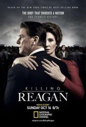 Killing Reagan (film) - Television release poster