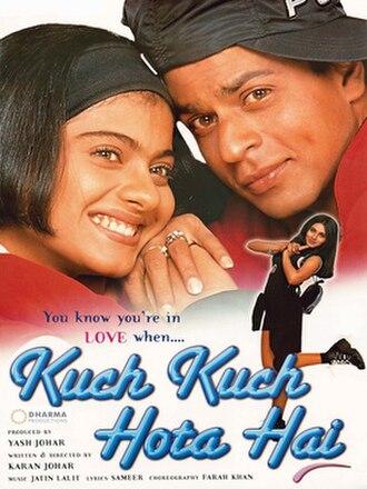 Kuch Kuch Hota Hai - Image: Kuch Kuch Hota Hai poster