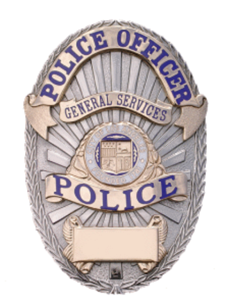 Los Angeles General Services Police - Image: LA General Services Police Badge