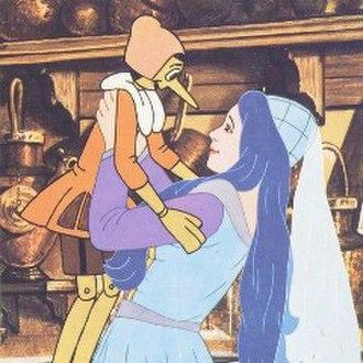The Fairy with Turquoise Hair - La Fata dai Capelli Turchini, as portrayed in Giuliano Cencis' Un burattino di nome Pinocchio