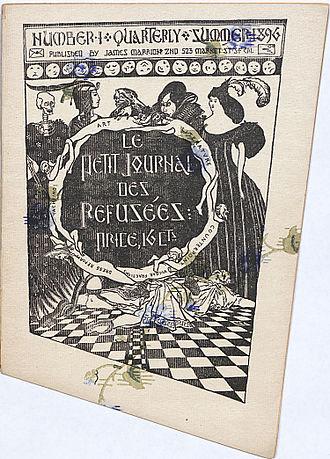 Le Petit Journal des Refusées - Front cover of Le Petit Journal des Refusées, 1896.