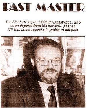 Leslie Halliwell - Halliwell profile/interview from  January 1987 issue of Films and Filming