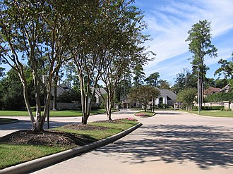 Cypress, Texas - Longwood is a heavily wooded golf course community located in North Cypress