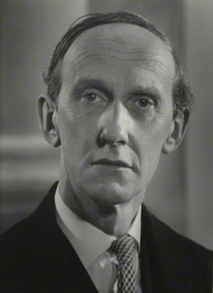 Lord David Cecil - Image: Lord David Cecil in 1954