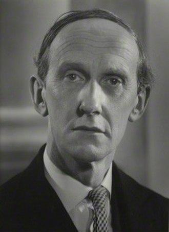 Lord David Cecil - Image: Lord David Cecil in 1954