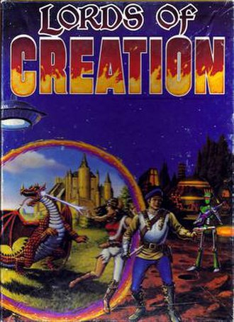 Lords of Creation (role-playing game) - Box Art from the Lords of Creation RPG
