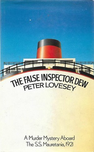 The False Inspector Dew - Cover of the 1st US edition