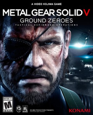 Metal Gear Solid V: Ground Zeroes - Image: MGSV Ground Zeroes boxart