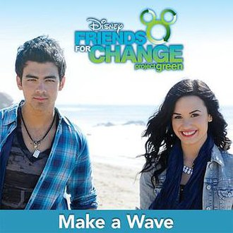 Disney's Friends for Change - Image: Make A Wave