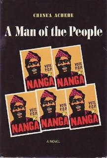 <i>A Man of the People</i> book by Chinua Achebe