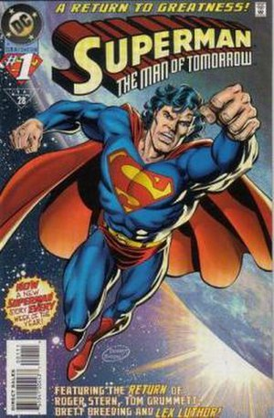 Superman: The Man of Tomorrow - Image: Man of Tomorrow No 1