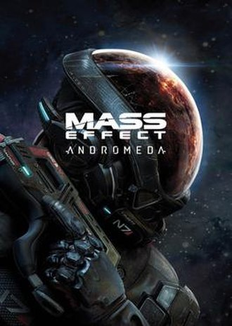 Mass Effect: Andromeda - Image: Mass Effect Andromeda cover
