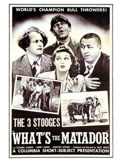 <i>Whats the Matador?</i> 1942 American film directed by Jules White
