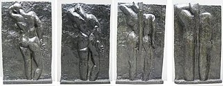 <i>The Back Series</i> Bas-relief sculptures by Henri Matisse