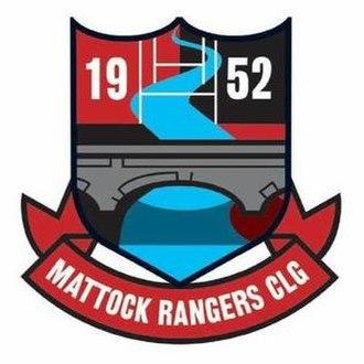 Mattock Rangers GAA - Image: Mattock Rangers GAA crest
