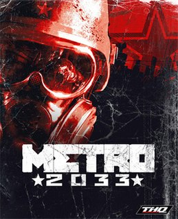 <i>Metro 2033</i> (video game) survival horror first-person shooter video game