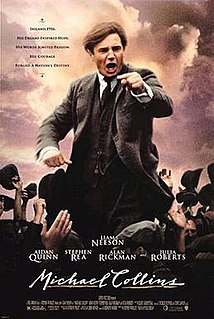 <i>Michael Collins</i> (film) 1996 historical biopic by Neil Jordan
