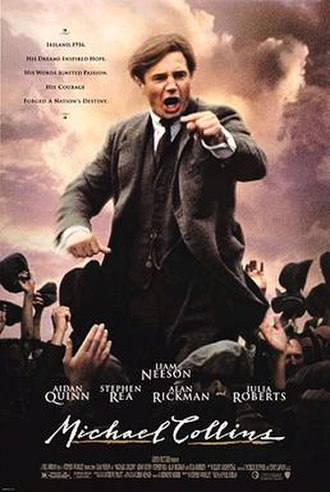 Michael Collins (film) - Theatrical release poster