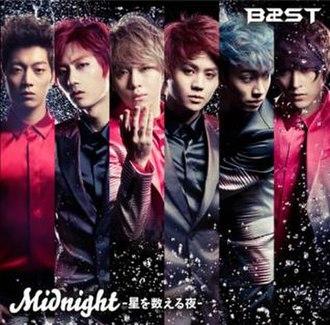 Midnight (Beast song) - Image: Midnight jpsinglecover