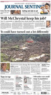 <i>Milwaukee Journal Sentinel</i> newspaper based in Milwaukee, Wisconsin