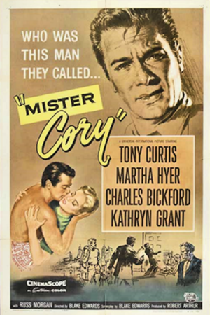 Mister Cory - Film poster by Reynold Brown