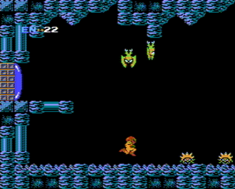 Metroid - In the first Metroid game, the player controls protagonist Samus Aran who fights alien monsters on the fictional planet Zebes.