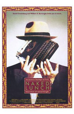 Naked Lunch (film) - Theatrical release poster