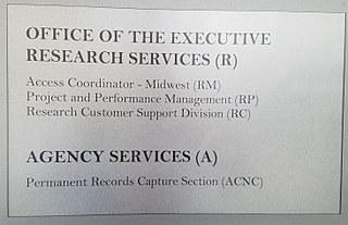 Organization of the National Archives and Records Administration
