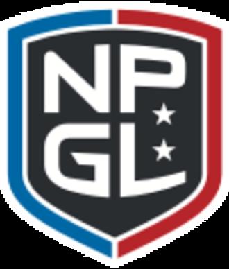National Pro Grid League - Image: National Pro Grid League logo