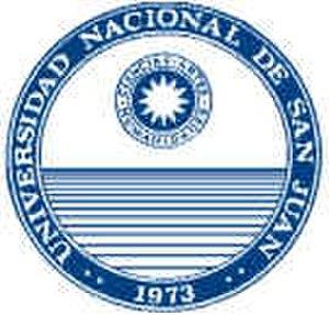 National University of San Juan - Image: National University of San Juan