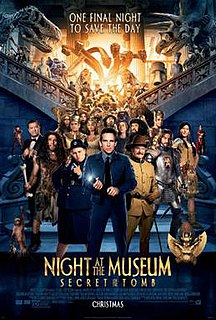 <i>Night at the Museum: Secret of the Tomb</i> 2014 American comedy film directed by Shawn Levy