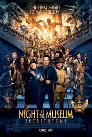 Night at the Museum: Secret of the Tomb - Theatrical release poster