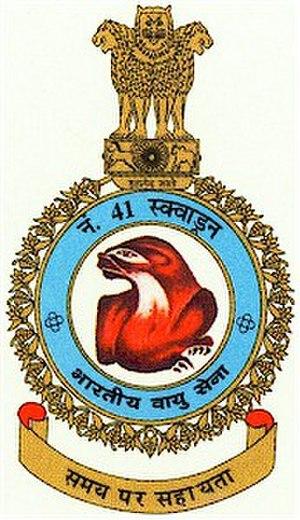 No. 41 Squadron IAF - Image: No. 41 Squadron IAF Logo