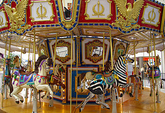 Northgate Mall (Durham) - Venetian Carousel at Northgate Mall