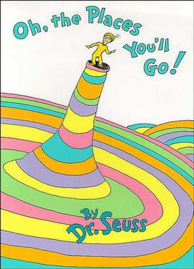 Picture of a book: Oh, The Places You'll Go!