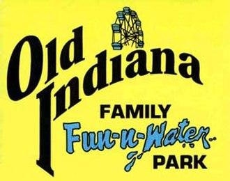 Old Indiana Fun Park - Image: Oldindianalogo 95