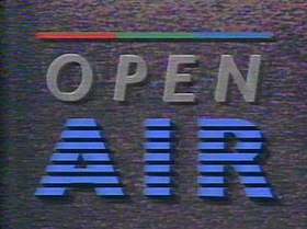 Opening titles for Open Air Open Source Wikipedia The Free Encyclopedia