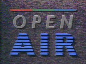 Open Air - Opening titles for Open Air