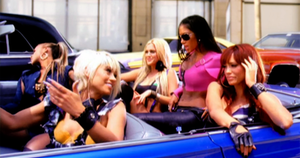When I Grow Up (The Pussycat Dolls song) - The Pussycat Dolls stuck in the middle of a traffic jam
