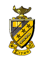The official crest of Phi Sigma Pi.
