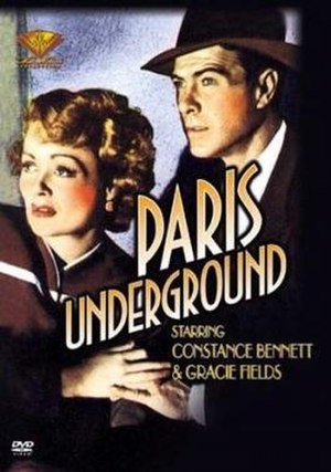 Paris Underground (film) - Image: Paris Underground Film Poster